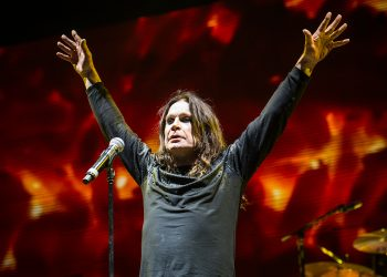 Ozzy Osbourne of Black Sabbath performs at Ozzfest 2016 at San Manuel Amphitheater on September 24, 2016 in San Bernardino, Calif. (Amy Harris/Invision/AP)