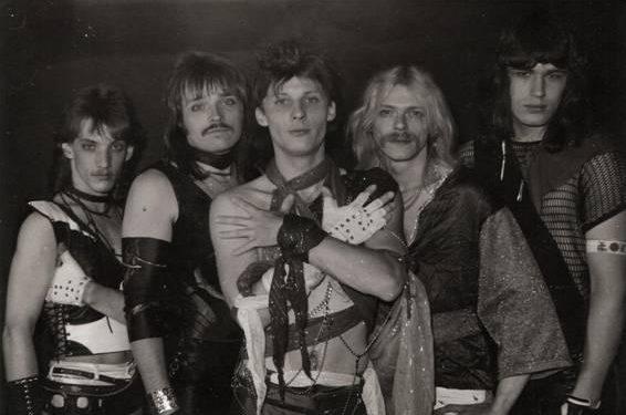 O metal germânico dos anos 80 em todo o seu fulgor visual.