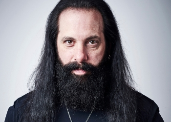 MANCHESTER, UNITED KINGDOM - APRIL 27: Portrait of American musician John Petrucci, guitarist with progressive metal group Dream Theater, photographed in Manchester, England, on April 27, 2018. (Photo by Olly Curtis/ Guitarist Magazine) *** Local Caption *** John Petrucci